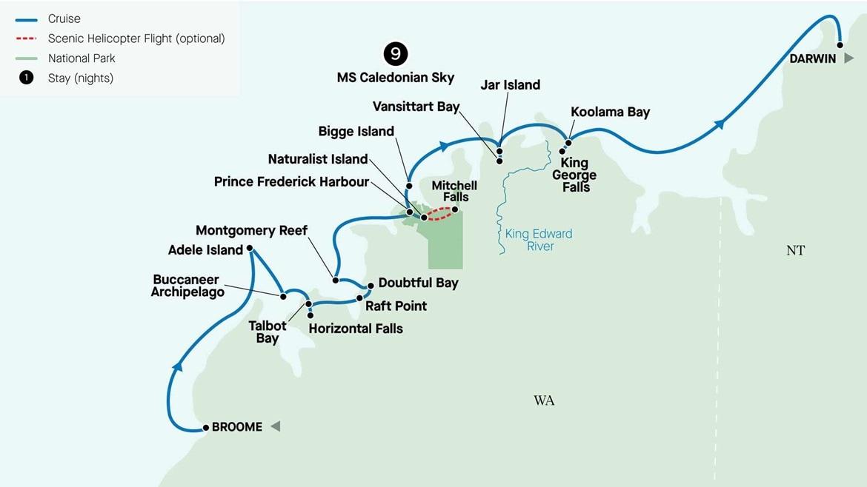 Australia Map 2022-2023 GKKCB10